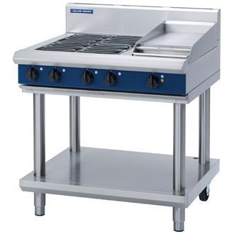 Blue Seal Evolution Cooktop 4 Element/ Griddle Electric on Stand 900mm E516C-LS GK253