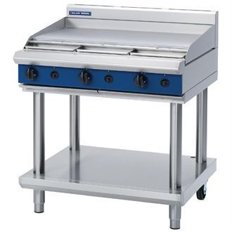Blue Seal Evolution Cooktop Griddle Burner Nat Gas on Stand 900mm G516A-LS/N GK157-N