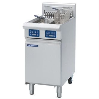 Blue Seal Evolution Twin Tank Fryer with Elec Controls Electric 450mm E44E GK586