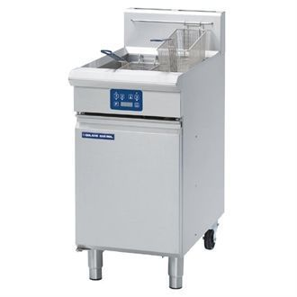 Blue Seal Evolution Vee Ray Single Tank Fryer with Elec LPG450mm GT45E/L GK582-P