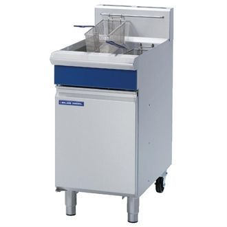 Blue Seal Free Standing Natural Gas Single Fryer GT45-NAT G038-N