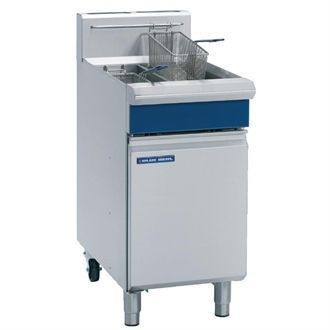 Blue Seal Free Standing Natural Gas Twin Fryer GT46 J596-N