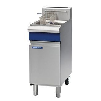 Blue Seal Freestanding Single Tank Fryer Natural Gas GT18 CM604-N