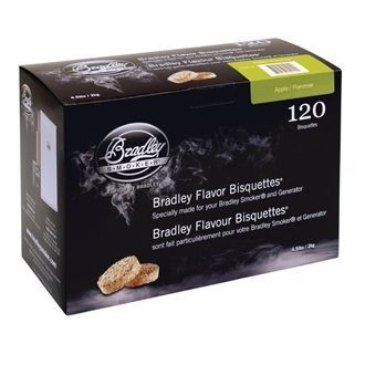 Bradley Apple Bisquettes 120 pack GK675
