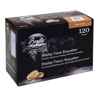 Bradley Maple Bisquettes 120 pack GK678