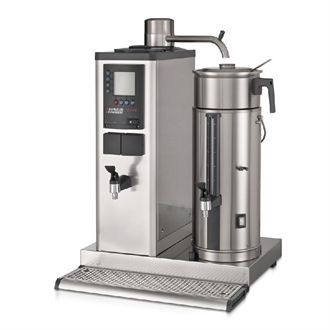 Bravilor B20 HWR Bulk Coffee Brewer with 20Ltr Coffee Urn and Hot Water Tap 3 Phase DC692