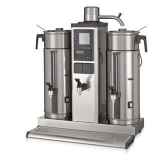 Bravilor B5 HW Bulk Coffee Brewer with 2x5Ltr Coffee Urns and Hot Water Tap Three Phase DC687-3P