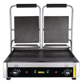 Buffalo Bistro Contact Grill Double Flat GJ456