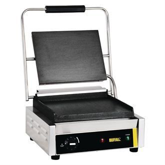 Buffalo Bistro Contact Grill Large Flat GJ455