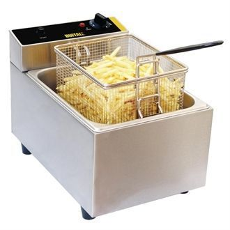 Buffalo Single Tank Countertop Fryer 5Ltr L484