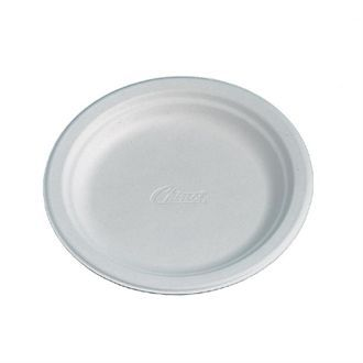 Disposable Round Plate White 170mm CM147