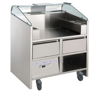 Electrolux 2 Point Mobile Unit with Refrigerated Drawers NERLP2G GP371