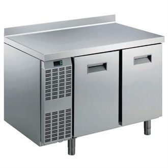 Electrolux Benefit Line Refrigeration Counter 2 Door 265Ltr St/St with Upstand RCSN2M2U GP377