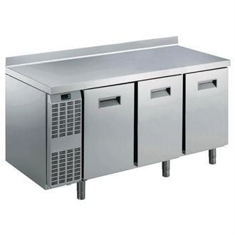 Electrolux Benefit Line refrigeration Counter 3 Door 415Ltr St/St with Upstand RCSN3M3U GP378