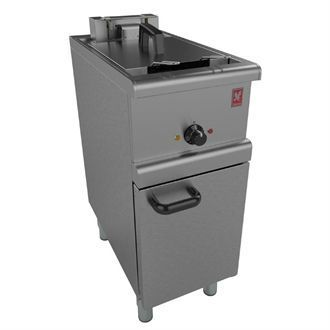 Falcon 350 Series Freestanding Single Pan Twin Basket Electric Fryer E350/36 GM148