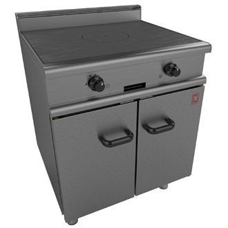 Falcon 350 Series Solid Top Gas Oven Range on Legs Natural Gas G350/2 GP120-N