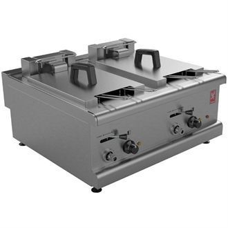 Falcon 350 Series Twin Tank Countertop Fryer E350/39 GP129
