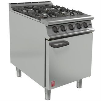 Falcon 4 Burner Dominator Plus Oven Range G3161 Propane Gas with Feet DK942-P