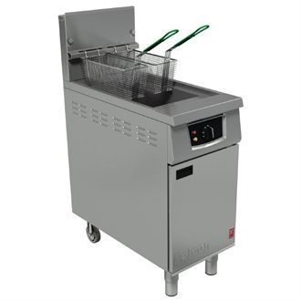 Falcon 400 Series Single Pan Twin Basket Gas Fryer Natural Gas G401 GP133-N