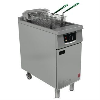 Falcon 400 Series  Twin Basket Electric Fryer E401 CG956