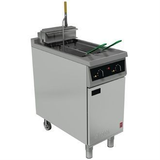 Falcon 400 Series Twin Basket Electric Fryer E421F GF337