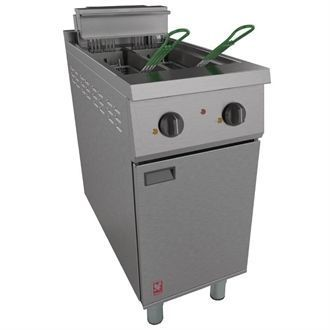 Falcon 400 Series Twin Pan Electric Fryer E421 CG959