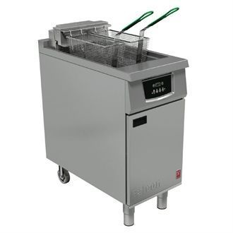 Falcon 400 Twin Basket Electric Fryer E402F CG958