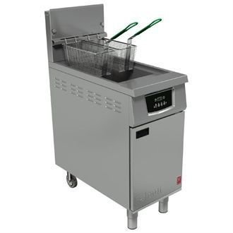 Falcon 400 Twin Basket Natural Gas Fryer G402 CG963-N