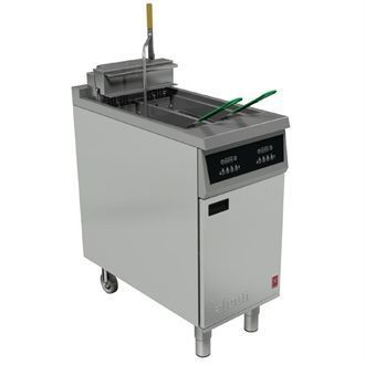 Falcon 400 Twin Pan Electric Filtration Fryer E422F CG961