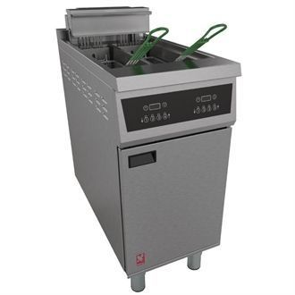 Falcon 400 Twin Pan Programmable Fryer E422 CG960