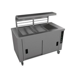 Falcon Chieftain 3 Well Heated Servery Counter HS3 GM188