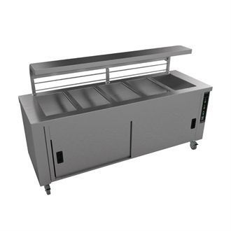Falcon Chieftain 5 Well Heated Servery Counter HS5 GM192