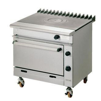 Falcon Chieftain Single Bullseye Propane Gas Oven Range G1006BX-P U984-P