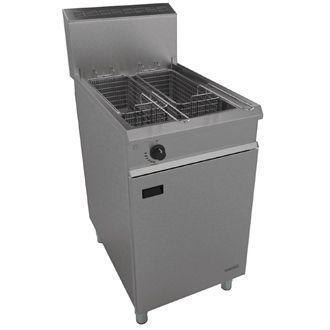 Falcon Chieftain Twin Basket Natural Gas Fryer G1838X G908-N