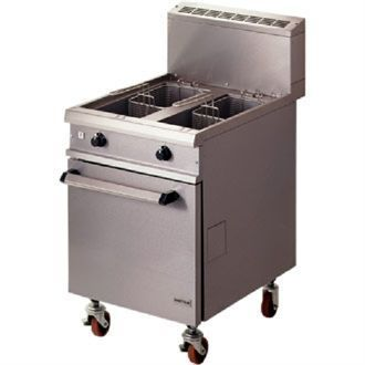 Falcon Chieftain Twin Pan Natural Gas Fryer G1848X G909-N