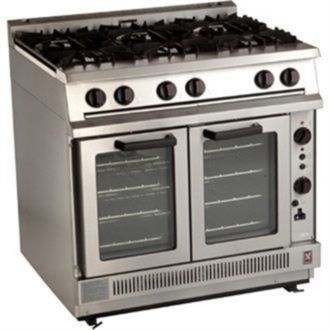 Falcon Dominator 6 Burner Convection Natural Gas Oven Range G2102 G915-N