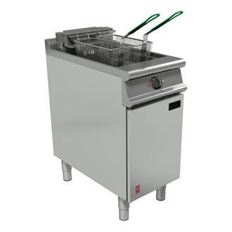 Falcon Dominator Plus Twin Basket Fryer with Filtration E3840F GP094