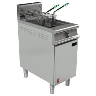 Falcon Dominator Plus Twin Basket Fryer With Filtration Natural Gas G3840F GP020-N