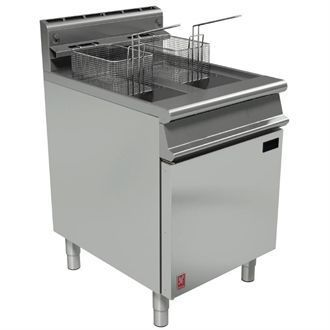 Falcon Dominator Plus Twin Pan Fryer Natural Gas G3865 GP022-N