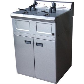 Falcon Pro-Lite Free Standing Double Electric Fryer LD48 F426