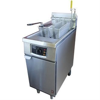 Falcon Twin Basket Natural Gas Fryer G2845F CG965-N