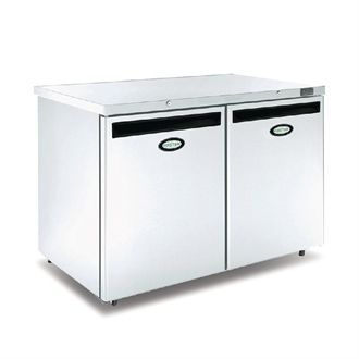 Foster 2 Door 360Ltr Under Counter Fridge HR360 13/116 CW737-SC