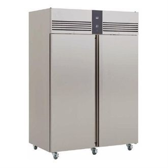 Foster EcoPro G2 2 Door 1350Ltr Cabinet Meat Fridge with Back EP1440M 10/186 GP624-SEB