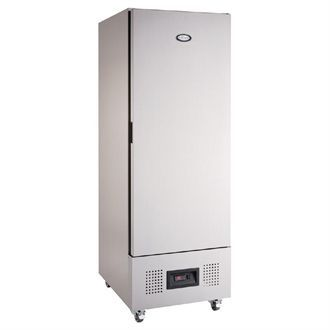 Foster Single Door Slimline Fridge Stainless Steel 400Ltr FSL 400 H CB952
