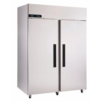 Foster Xtra Double Door Fridge Stainless Steel 1300 Ltr XR1300H GK691