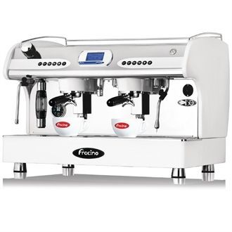 Fracino PID Espresso Coffee Machine 2 Group White PID2 GE944