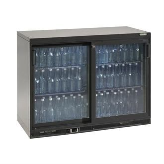 Gamko Bottle Cooler - Double Sliding Door 275 Ltr CE555