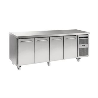 Gram Gastro 07 4 Door 668Ltr Counter Fridge K 2207 CSH A DL/DL/DL/DR C2 G363