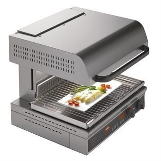 Hatco Energy Saving Rise and Fall Salamander Electric Grill QTS-1 CF086