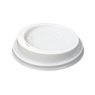 Huhtamaki Hot Cup Lid to fit 12 / 16oz White CL869